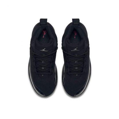 new arrival 342c9 4459a 100% Real Jordan Retro 12 Black/Rush Pink Preschool Kids Shoe - cheap  yeezys - S0218