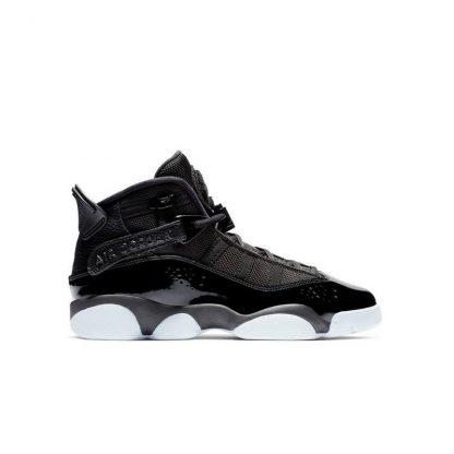 sale retailer 16e32 6097e 50% Off Discount Jordan 6 Rings Black/White Grade School kids Basketball  Shoe - cheap real jordans for sale - R0491