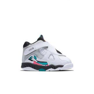 buy popular 3a314 b41cd ... China Jordan 8 Retro White Turbo Green Toddler Kids Shoe - cheap  jordans online - R0370 ...