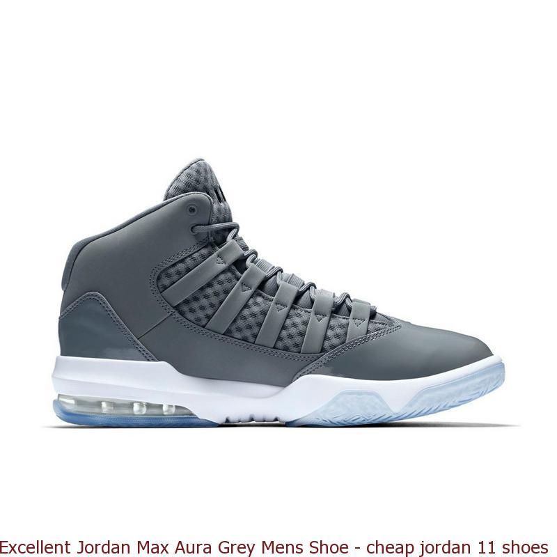 7d033fb4d44e Excellent Jordan Max Aura Grey Mens Shoe – cheap jordan 11 shoes ...