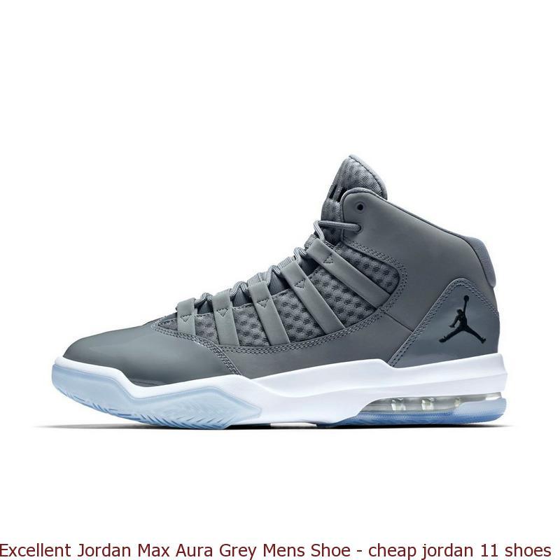 3d7e83ba5d473b Excellent Jordan Max Aura Grey Mens Shoe – cheap jordan 11 shoes ...