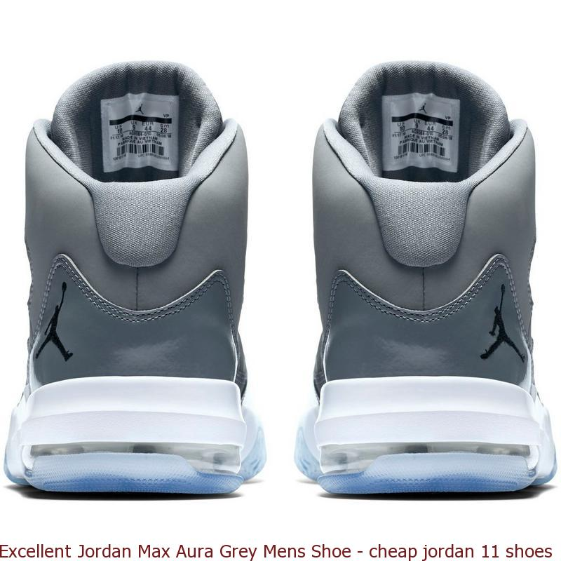 aba4ab81b39b0e Excellent Jordan Max Aura Grey Mens Shoe – cheap jordan 11 shoes ...