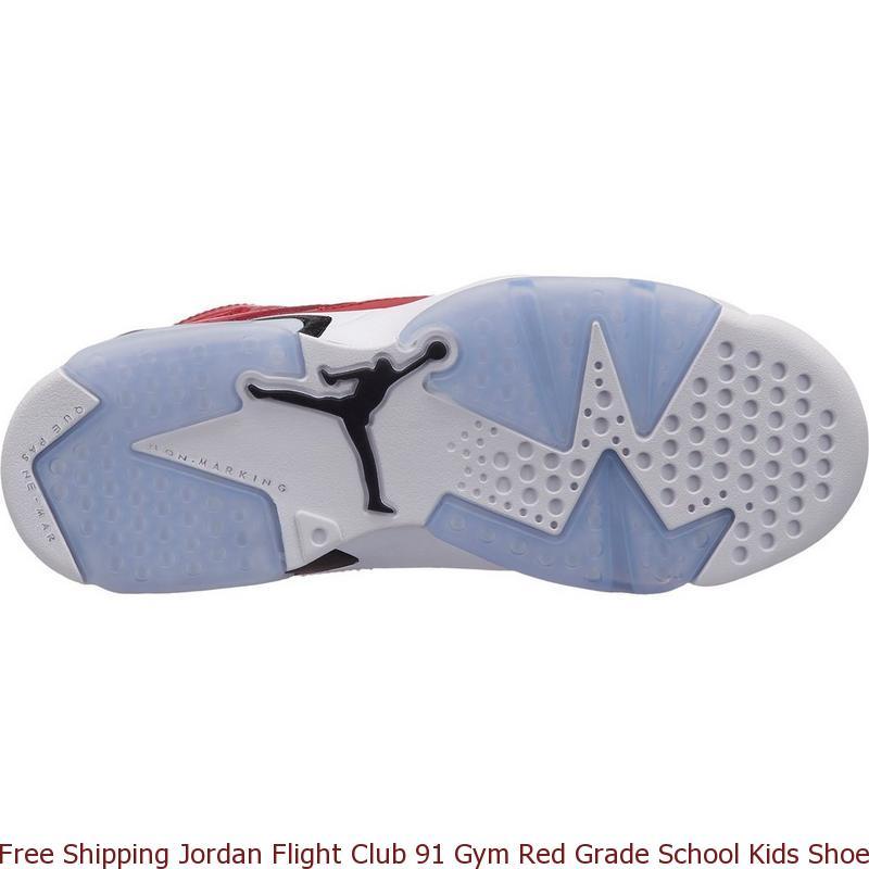 bc7c31f21c7778 Free Shipping Jordan Flight Club 91 Gym Red Grade School Kids Shoe ...