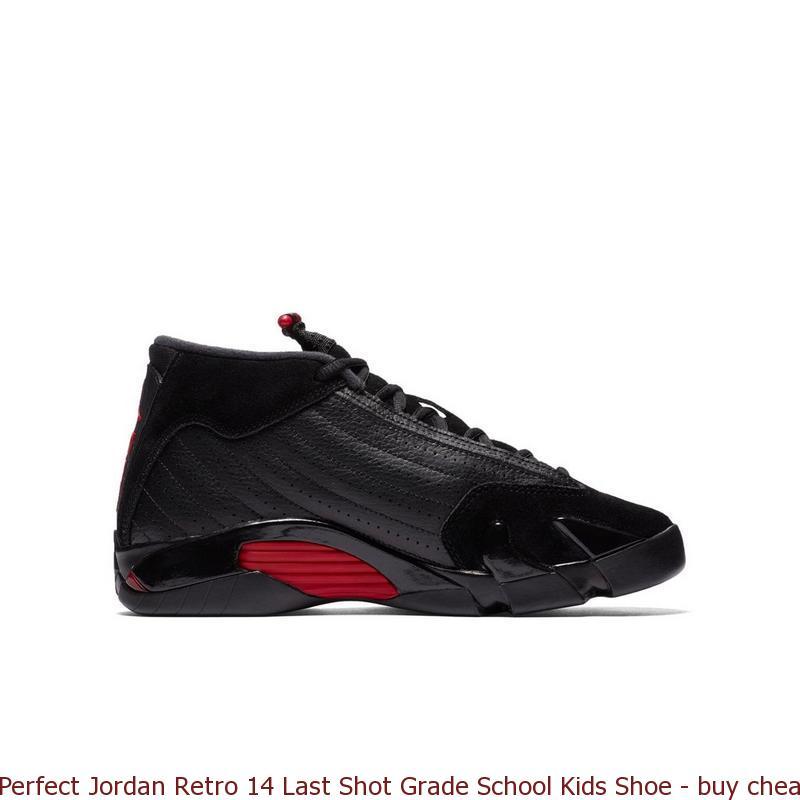 ea09769daa2 Perfect Jordan Retro 14 Last Shot Grade School Kids Shoe – buy cheap ...