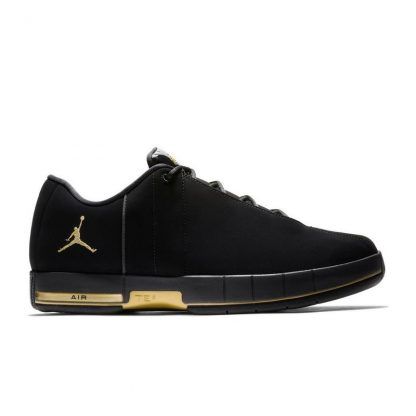 Perfect Jordan Team Elite 2 Black/Gold Mens Shoe , buy nike shoes near me ,  Q0263