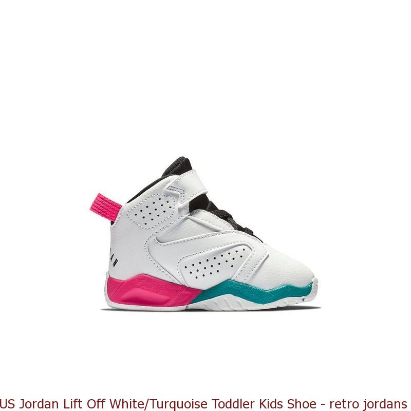 efbff74ce00d23 US Jordan Lift Off White Turquoise Toddler Kids Shoe – retro jordans ...