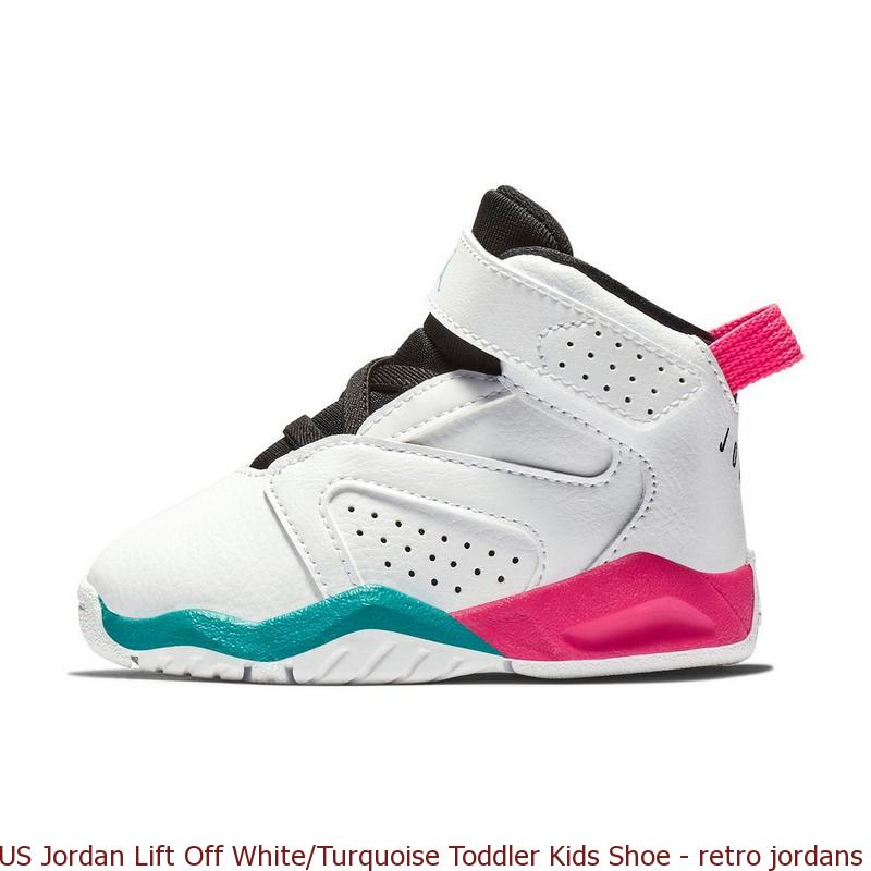 US Jordan Lift Off White Turquoise Toddler Kids Shoe – retro jordans ... 9711f8f36