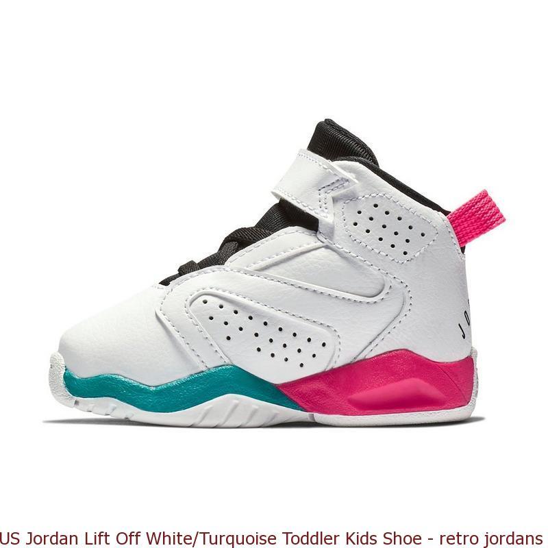 promo code 026f1 dd78a US Jordan Lift Off White Turquoise Toddler Kids Shoe ...