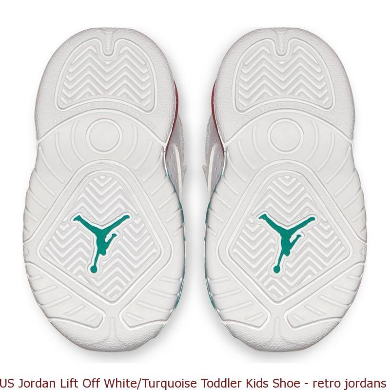 low priced 78087 a2c57 US Jordan Lift Off White/Turquoise Toddler Kids Shoe - retro jordans for  sale cheap online - R0411